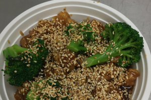 213. Sesame Chicken Rice Bowl - delivery menu