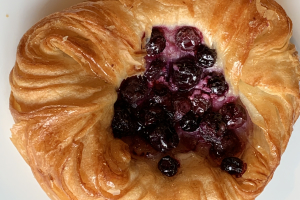 Blueberry danish - delivery menu