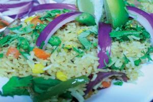 Vegetable Biryani - delivery menu