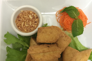 11. Tofu Triangles - delivery menu