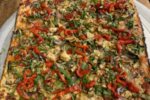 Vegan Pizza Pie - delivery menu
