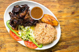 Jerk Wings Meal - delivery menu