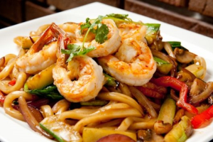 Spicy Basil Stir-Fried Udon Noodles - delivery menu