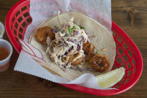 7. Spicy Shrimp Taco - delivery menu