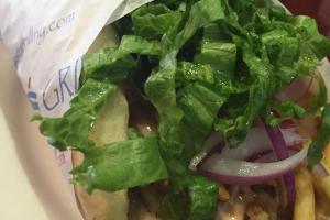 Chicken Gyro Sandwich - delivery menu