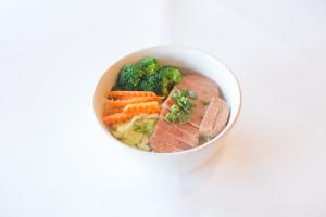 Spam Noodle Soup - delivery menu