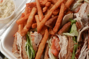 Turkey Club - delivery menu