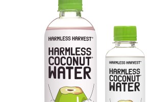 Harmless Harvest Coconut Water - delivery menu