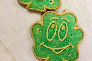 St Patrick's Day Cookies - delivery menu