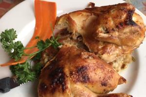 Roast 1/2 Chicken - delivery menu