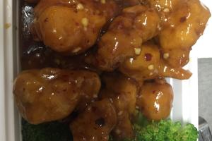 C2. Orange Chicken - delivery menu