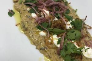 "Zucchini ""Ghanooj"" - delivery menu"