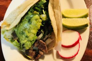 Taco con Carne Asada - delivery menu
