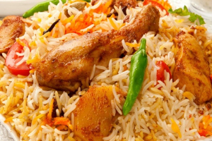 Biryani with Chicken and Vegetable - delivery menu