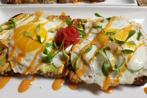 NEW!!! Avocado Toast - delivery menu