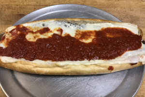 Eggplant Parmigiana Sandwich - delivery menu