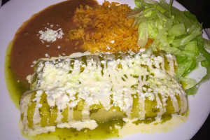 Verdes Enchiladas - delivery menu