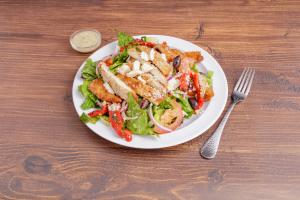 Romano Crusted Chicken Salad - delivery menu