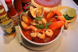 Sopa de Mariscos  - delivery menu