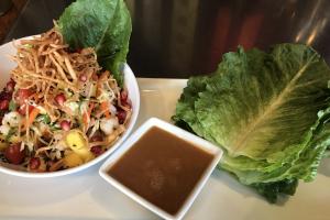 Thai Shrimp Lettuce Wrap Salad Lunch - delivery menu