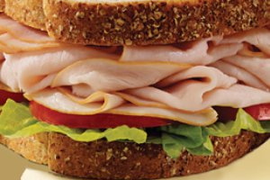 Turkey and Cheese Sandwich - delivery menu