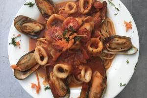 Zuppe di Pesce - delivery menu