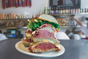 The Monster Sandwich (FEEDS 2 TO 4 or ONE HUNGRY PERSON) - delivery menu