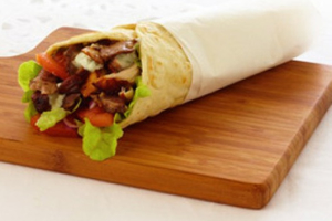Beef Shawarma Wrap - delivery menu