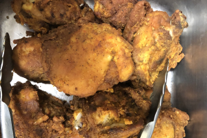 Baked Chicken with rice and beans - delivery menu