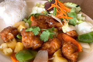 Sweet and Sour Lunch Special - delivery menu