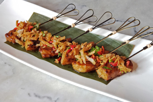Chilean Sea Bass Skewer - delivery menu