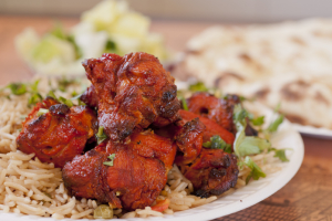 Chicken Sheeh Kabab with Rice - delivery menu