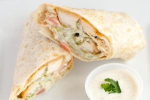 Chicken Caesar Pita Wrap - delivery menu