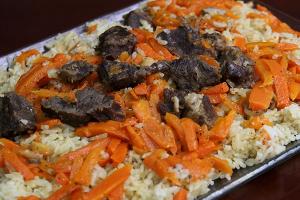 Uzbek Pilaf - delivery menu
