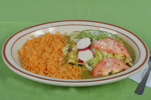 Enchiladas Verdes - delivery menu