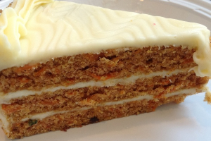 "4"" Carrot Cake - delivery menu"