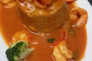 Mofongo Camarones - delivery menu