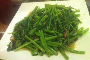 101. Water Spinach with Garlic Sauce - delivery menu