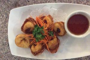 Crab Rangoon - delivery menu