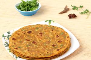 Vegetable Paratha - delivery menu