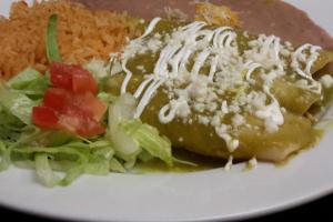 Enchiladas Verdes - delivery menu