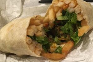 Vegetarian Burrito - delivery menu