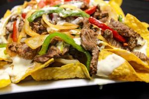 Fajita Nachos - delivery menu