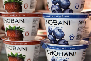 Chobani yogurt - delivery menu