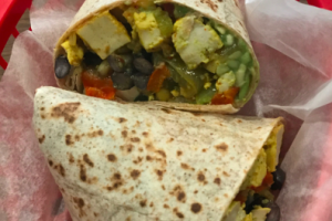 ***Vegan*** Breakfast Burrito - delivery menu