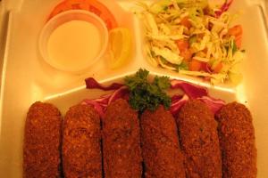 Vegetarian Falafel Plate - delivery menu