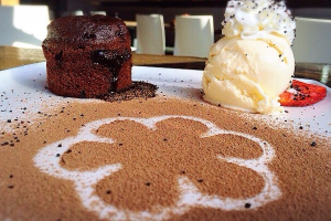 Chocolate Fudge Lava Cake - delivery menu