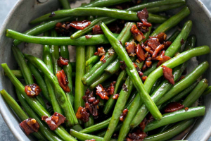 95. Quart of Dried Sauteed String Beans - delivery menu
