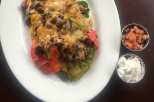 Slide BarBQ Nachos - delivery menu
