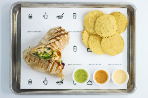 K4. Caribbean Wrap - delivery menu